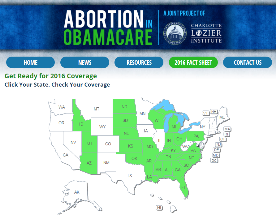 ObamacareAbortion Fact Sheet 2016