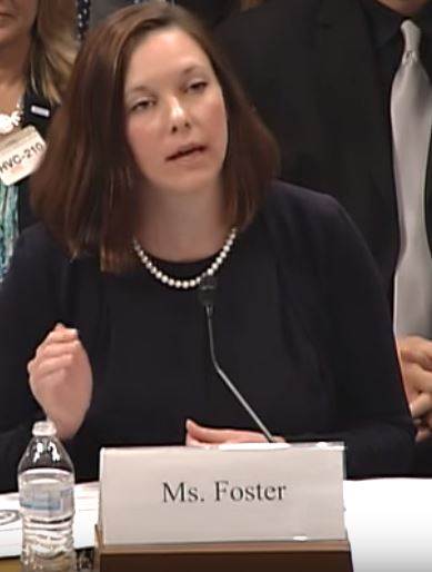 (CLI assoc. scholar Catherine Glenn Foster, J.D. testifying at Select Panel hearing, 4/20/2016)