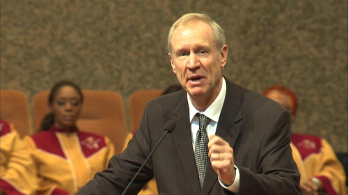 Illinois Governor Bruce Rauner (R)
