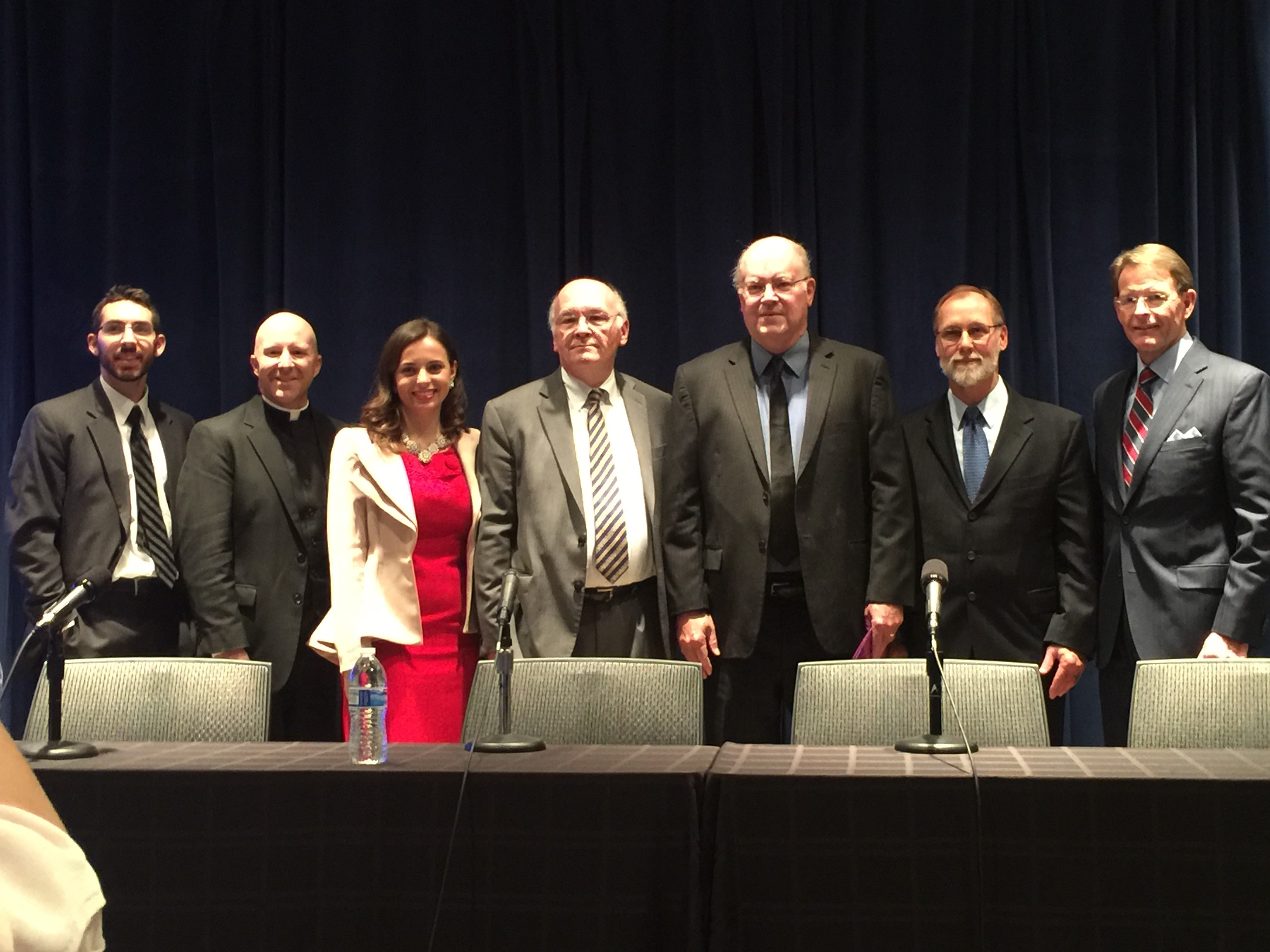 Chuck Donovan with other presenters at Family Research Council on January 25, 2017